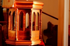 The Pulpit in the Afternoon Sun